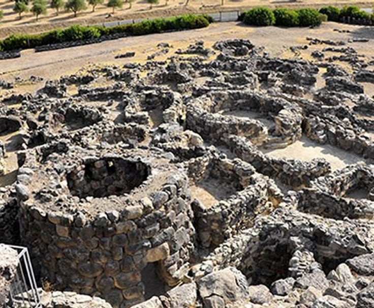 The largest nuraghic complex on the island, dated to ca. 1500 BC, is Su Nuraxi. It has been excavated since 1949, but its origins remain obscure