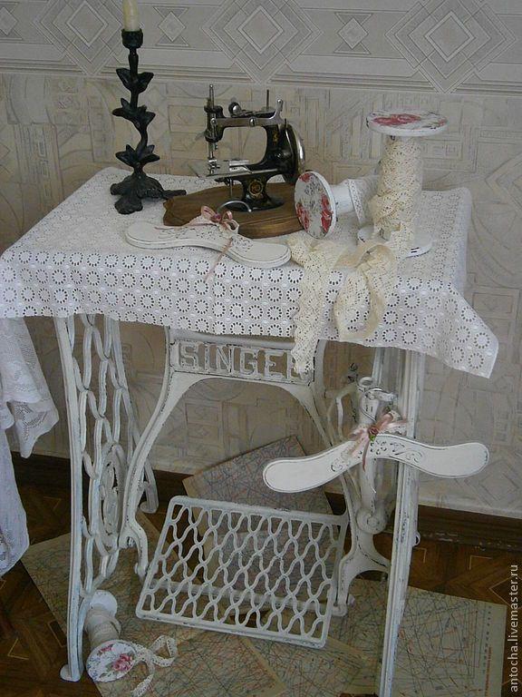 """Купить """"Зингер-Легенда эпохи"""" -станина от швейной машинки - станина, машинка, ретро, стол, зингер"""