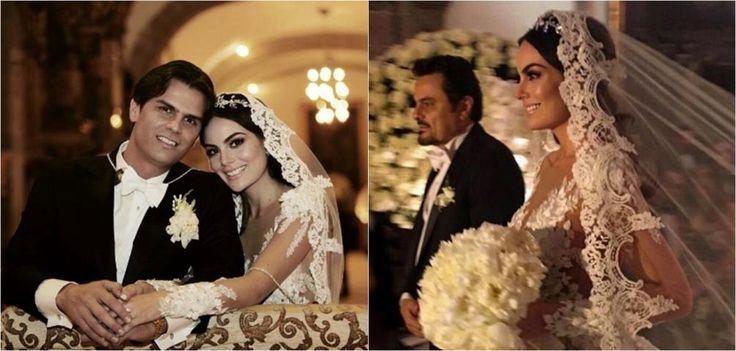 Image result for ximena navarrete wedding