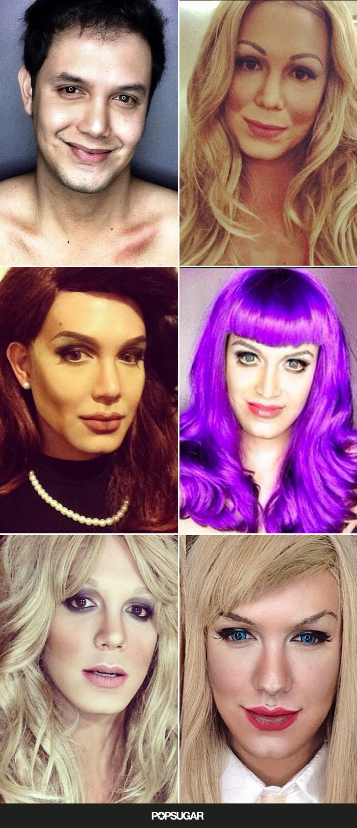 Paolo Ballesteros is seriously talented. #beauty #makeuptransformations