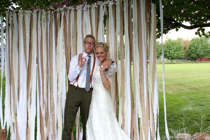 al fox wedding cloth streamers wedding pinterest fox wedding and weddings