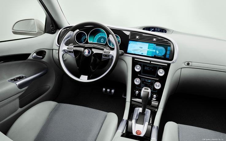 2003 Concept Car – Saab 9-3 Sport hatch interieur