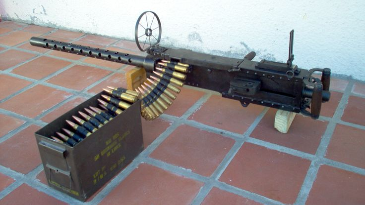 .50 BMG Aircraft version i reconditioned, with side trigger added