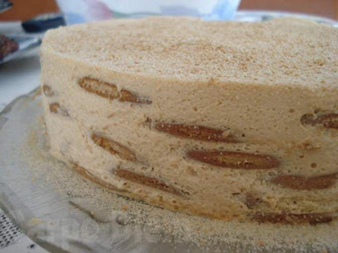 Receita Sobremesa : Bolo de bolacha de Carpe Diem