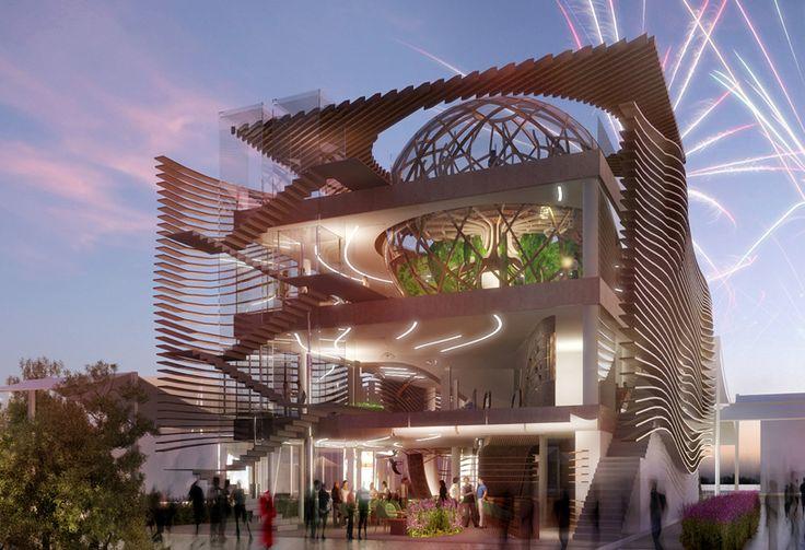 Les 105 meilleures images du tableau milan exposition for Architecture parametrique