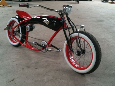 Found this bike on an Instructables. If anyone knows the maker, please let me know!!