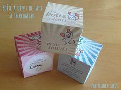 Planet-cards vous propose une boîte à dents de lait à télécharger gratuitement pour l'imprimer et l'offrir à votre enfant. DIY ludique et pratique.
