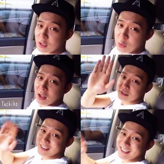 150827 C-JeS Instagram Update: Yuchun's final greeting Greetings to fans before enlistment