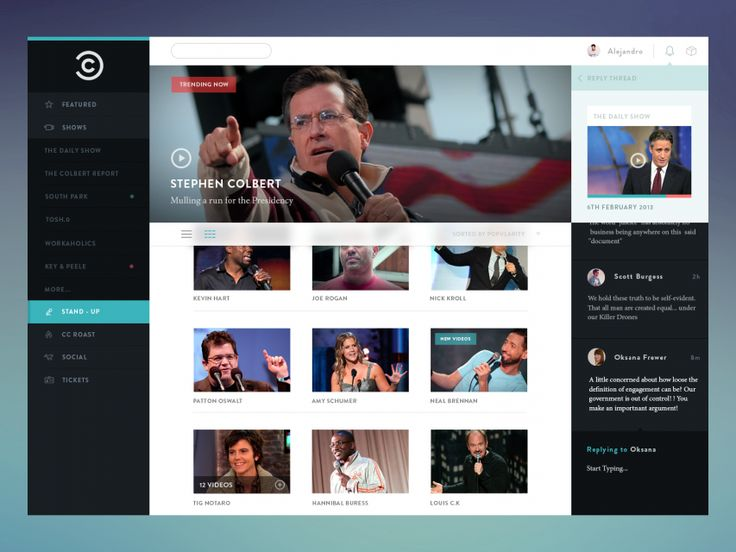 Free Comedy Central Concept #freebies