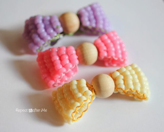 Bead Bows - Repeat Crafter Me
