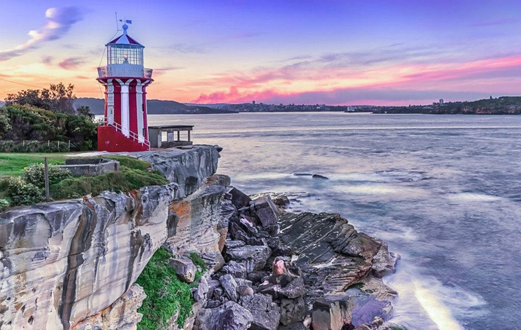 Hornby Lighthouse, Camp Cove, New South Wales