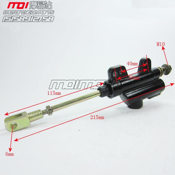 $12.50 (Buy here: https://alitems.com/g/1e8d114494ebda23ff8b16525dc3e8/?i=5&ulp=https%3A%2F%2Fwww.aliexpress.com%2Fitem%2FRear-Foot-Hydraulic-Brake-Master-Cylinder-Pump-M10-fit-Motorcycle-Dirt-Pit-Bike-ATV-scooter-50cc%2F32716203793.html ) Rear Foot Hydraulic Brake Master Cylinder Pump M10 fit Motorcycle Dirt Pit Bike ATV scooter 50cc 90cc 110cc 125cc BSE for just $12.50