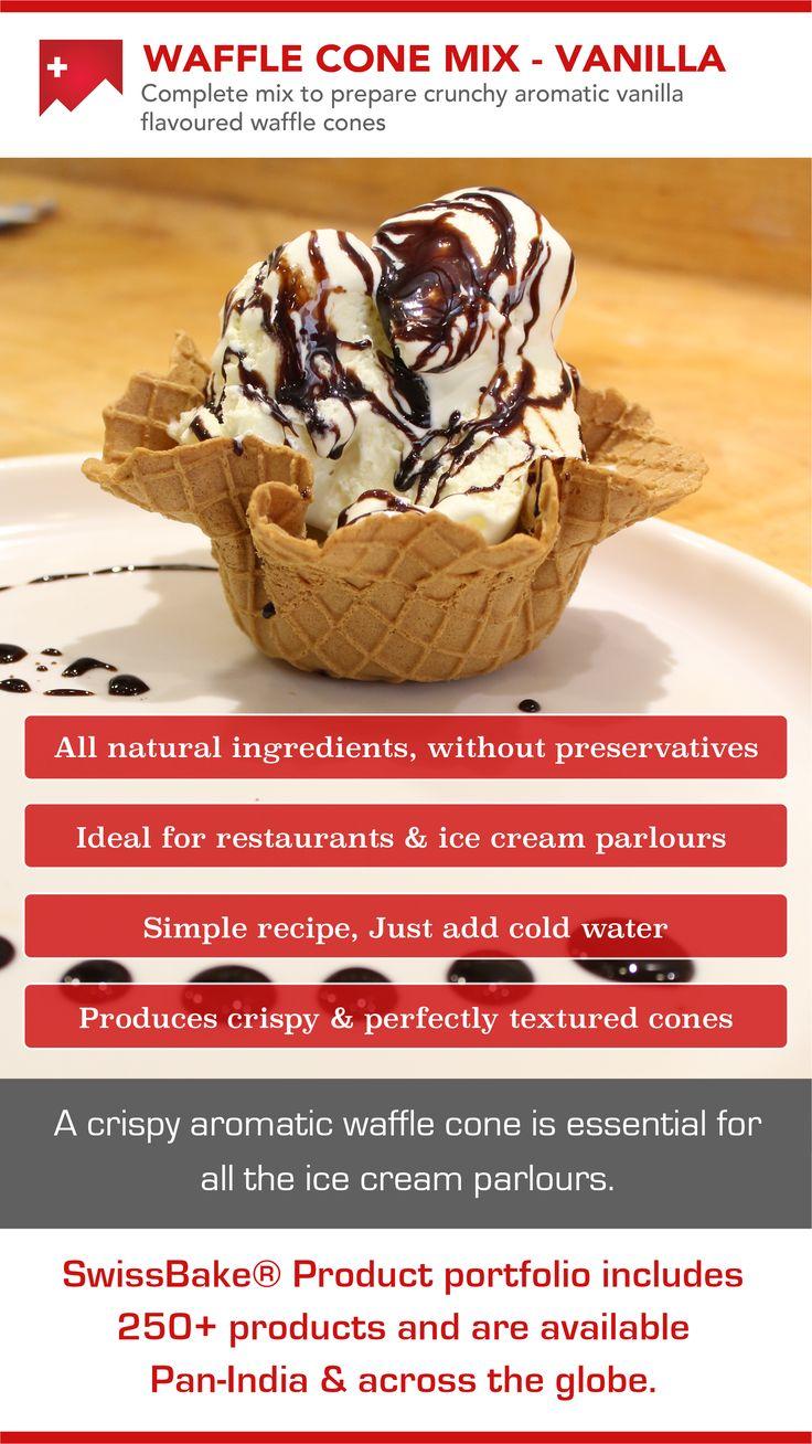 Complete mix to prepare crunchy aromatic vanilla flavoured