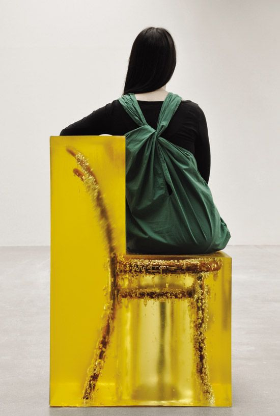 Yellow glass chair | House of Beccaria#