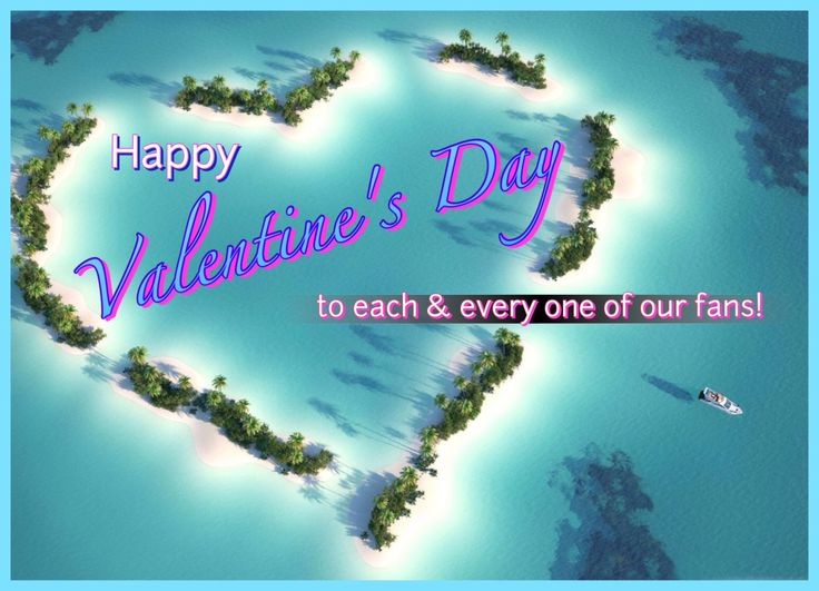 A big #HappyValentinesDay to each & everyone of you!  It's all about those that make life brighter and our fans qualify