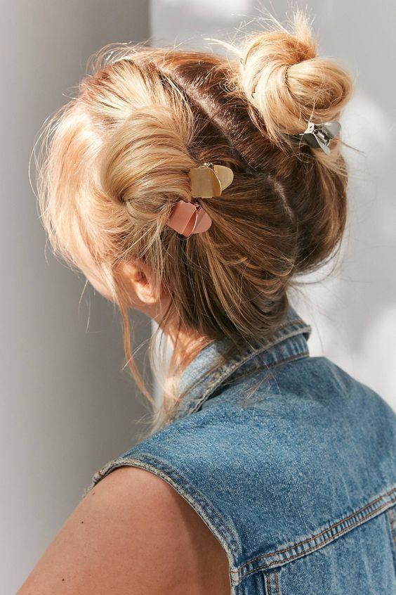 Trendy Cool Hair Claw Must-Have, um Ihr Haar anders zu stylen