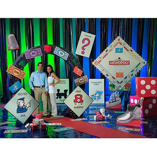 Monopoly Decorations Centerpieces