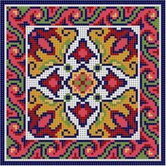 Oriental Tile 4