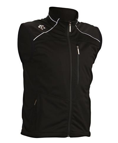 Desent soft shell vest $175  http://www.descente.com/ski-apparel/competition/team-ski-vest/ D3-7765-93.jpg (400×485)