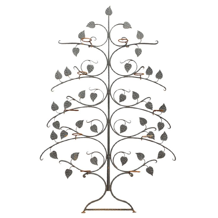 Salterini  Wrought Iron Garden Tree   From a unique collection of antique garden ornaments at http://www.joanbogart.com/gardenantiques.php