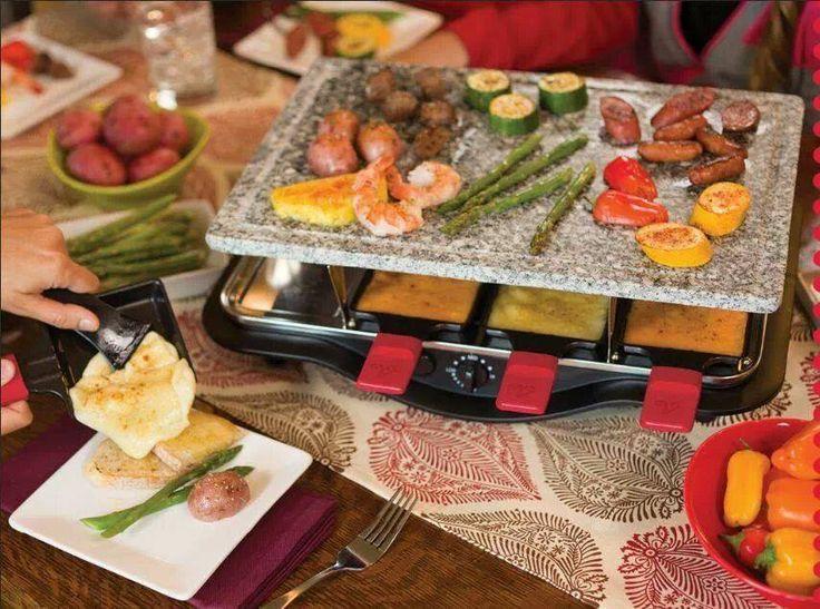 New Velata Raclette tabletop Grilling system - Bringing Families together!!