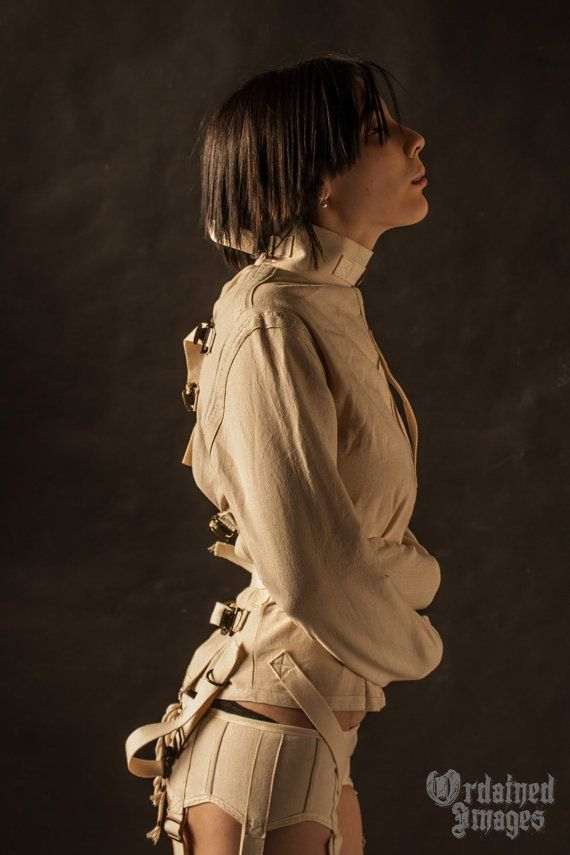 Canvas StraitJacket by RunsWithScissorsRWS on Etsy, $248.00