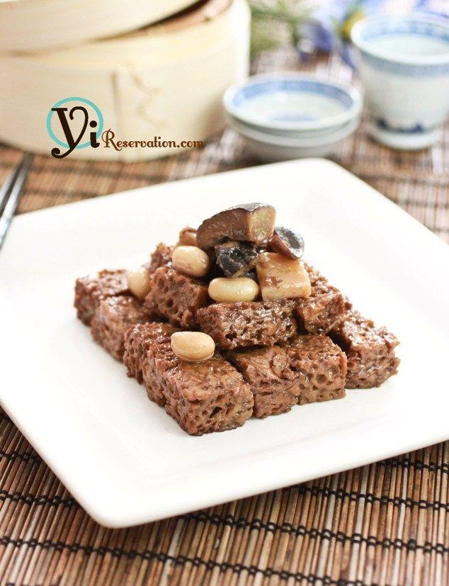 Kao Fu (烤麩) - Wheat Gluten