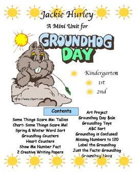 Groundhog's Day | by Jackie Hurley | $4.95