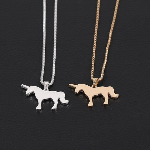 8 best Unicorn Necklace images on Pinterest Unicorn necklace