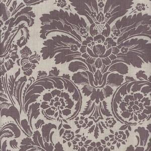 Lavender Damask Oilcloth