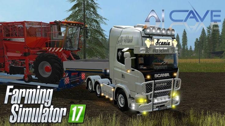 Scania Se Scania R730 V8 Topline Ar Freight Fin Farming Simulator 17 Mods Scania V8 Old School