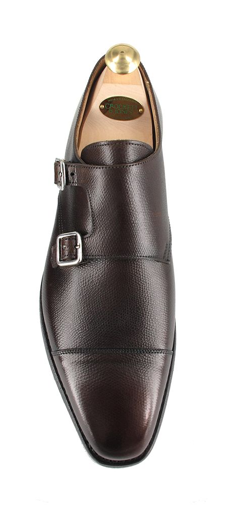 Lowndes - Dark Brown Golf Grain