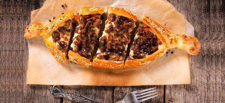 #Kiymali Pide #pies #recipes #πίτες #συνταγες #συνταγές