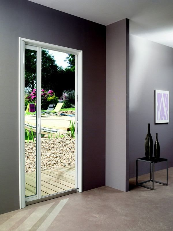 1000 ideas about porte fenetre coulissante on pinterest for Porte fenetre coulissante aluminium