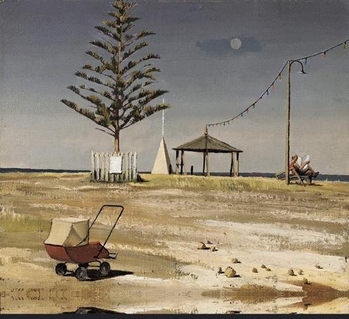 'Holiday Resort' 1946 Jeffery Smart