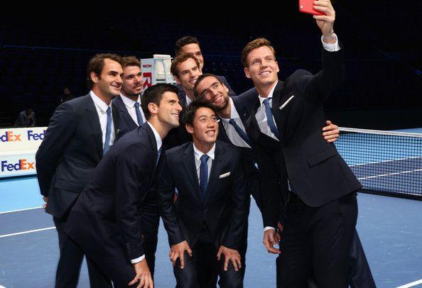 Kei Nishikori Photos - Barclays ATP World Tour Finals: Previews - Zimbio