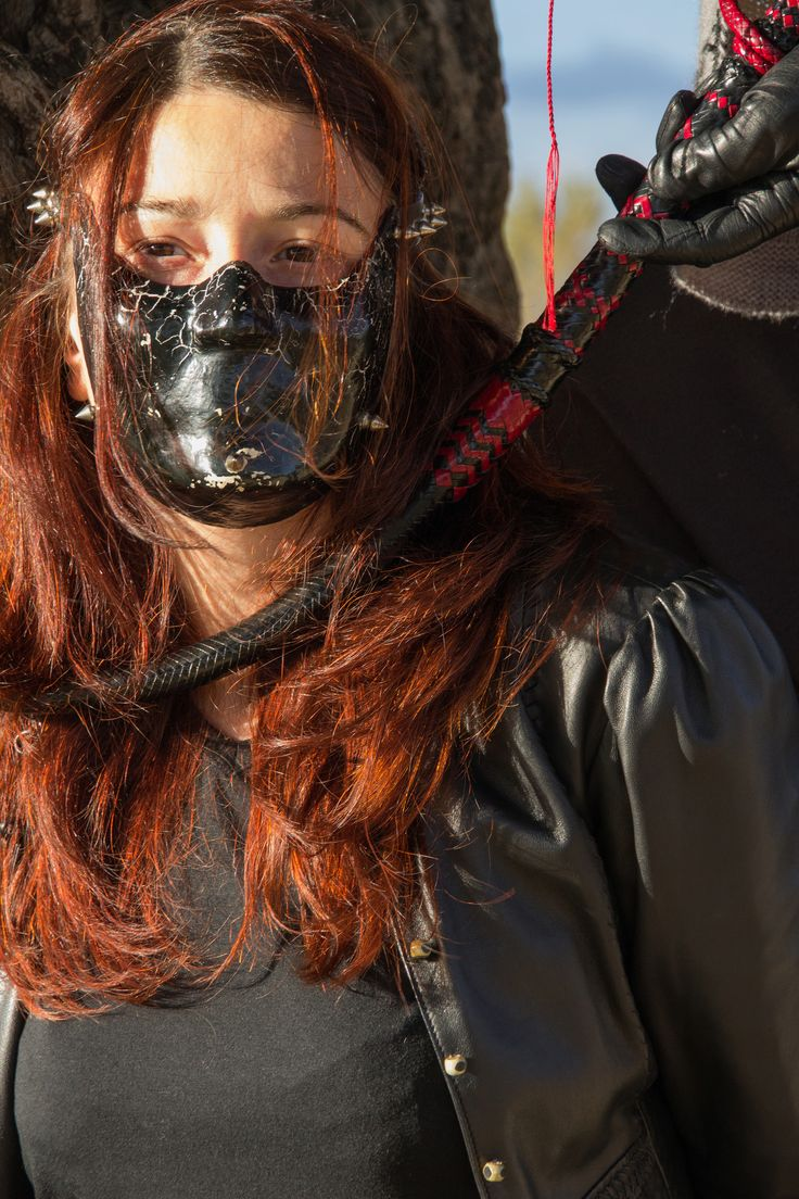 Trapped In Mask By The Whip Bdsm-Attributescom -9097