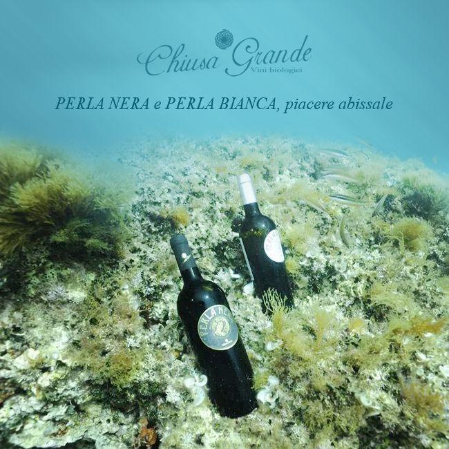 Wir haben 2 wahre Bio-Perlen für Sie entdeckt! Nur wenige Flaschen! Tauchen Sie mit: http://www.bioweinreich.com/shop/BioWeine/Nach_Weingut/Chiusa_Grande - - - Piacere abissale = Abgrundtiefes Vergnügen