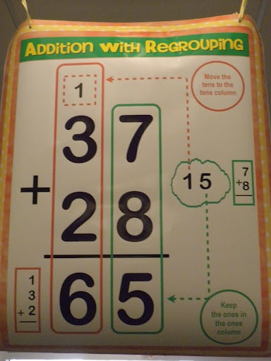 Number Names Worksheets regroup in addition : 1000+ images about Addition with regrouping on Pinterest
