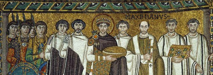 Bizans'ın bin yıllık tarih koşusu, M.S. 395'te Roma İmparatorluğu'nun, Theodosius tarafından ikiye bölünmesi ile başlar. İmparator Justinianus döneminde doruk noktasına varır. Bizans tarihi birinci bölüm kuruluş ve yükseliş.