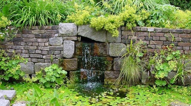 7 best Wasserfall images on Pinterest Water games, Garden deco and
