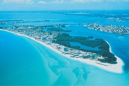 Lido Key... we stay right there on the tip of the island