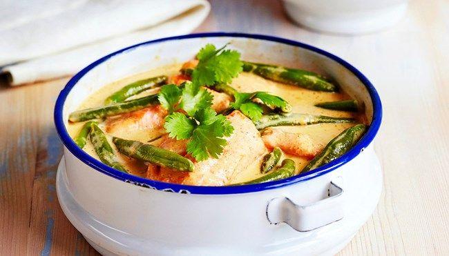 Thaimaalainen korianteri-kookoskala - K-ruoka