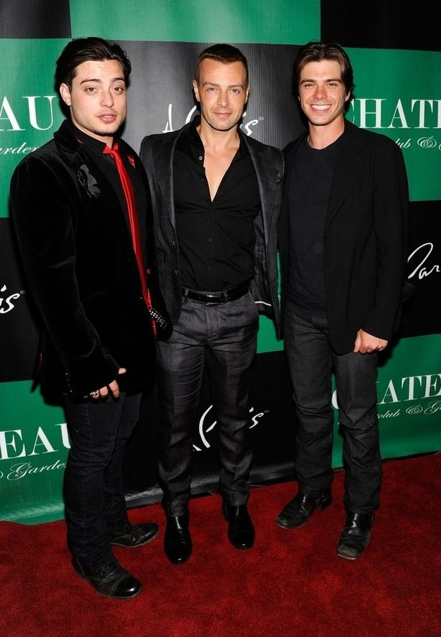 The three Lawrence brothers... All starred in brotherly love. This is what they look like today...