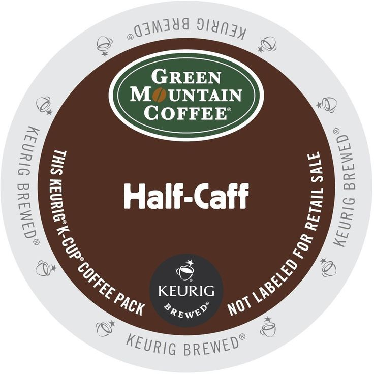 Green Mountain Coffee Half Caff K-Cups for Keurig Brewers