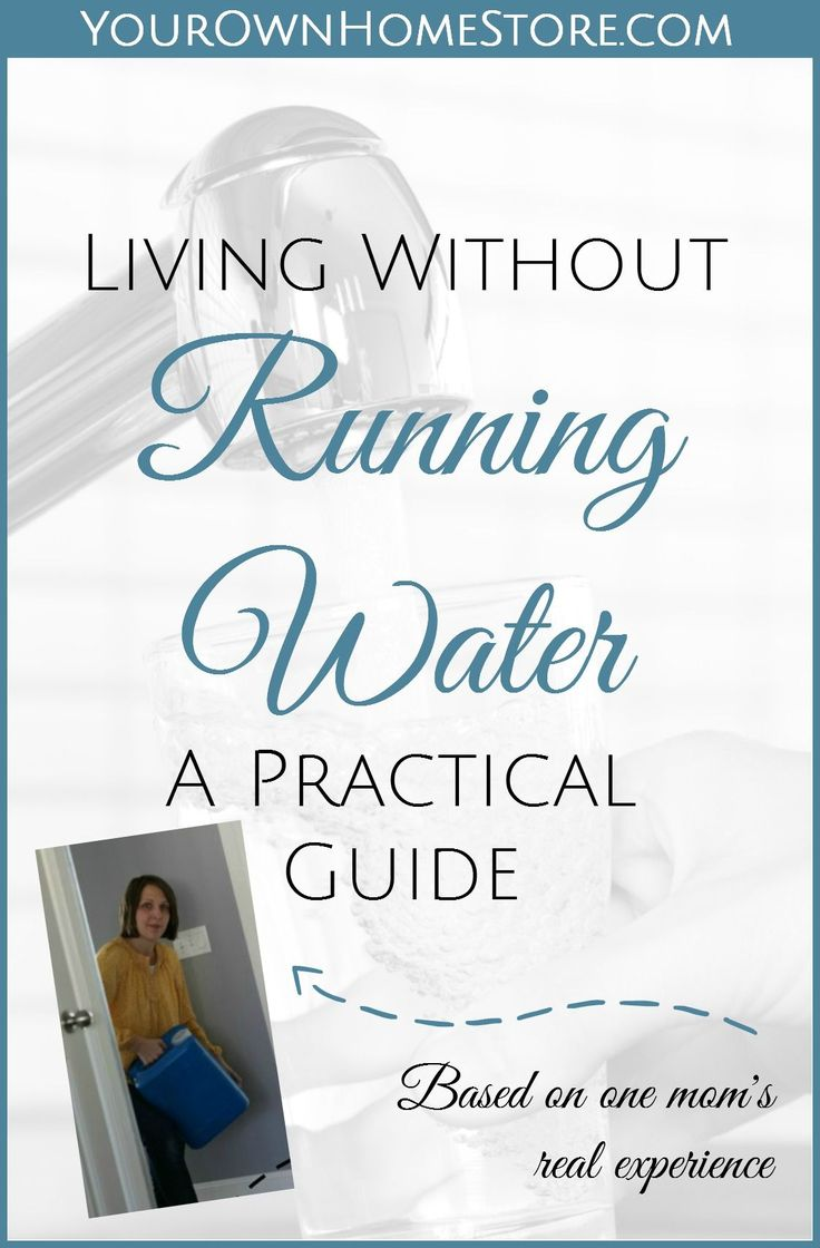 Emergency Water Storage | Emergency Water Supply | Living Without Running Water: An Emergency Water Storage Guide | Water Storage Long Term | Water Storage Container