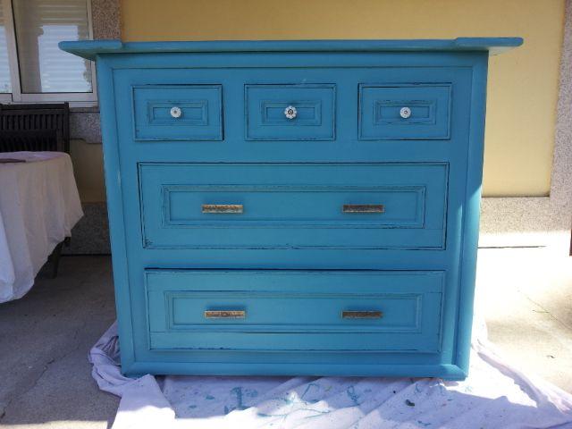 Mueble grande restaurado