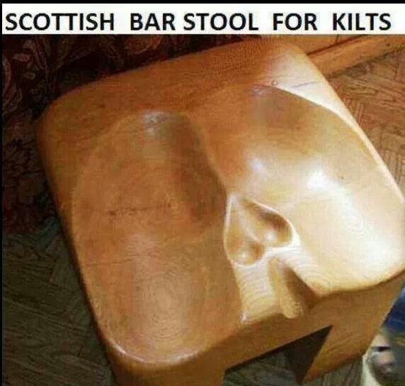 Scottish Bar Stool Funny Stuff Pinterest Bar Stools