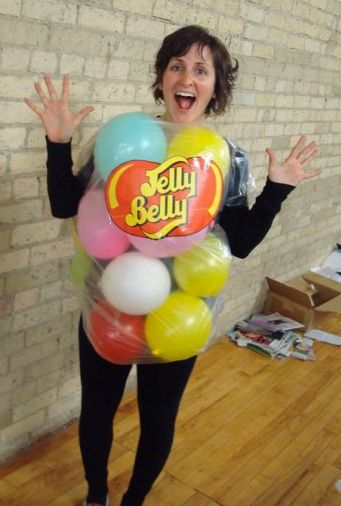 Although this Jelly Belly Halloween Costume is quite crafty, it's best to resume from eating these