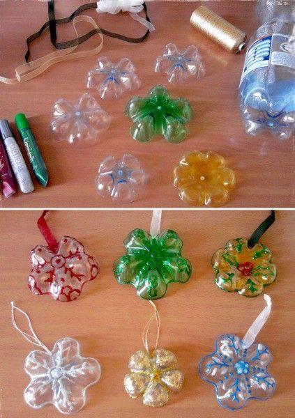 Alberi di Natale con bottiglie di plastica - Fotogallery Donnaclick